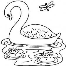 Barbie of Swan Lake Kids Coloring Pages 2