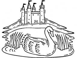 Barbie of Swan Lake Kids Coloring Pages 5