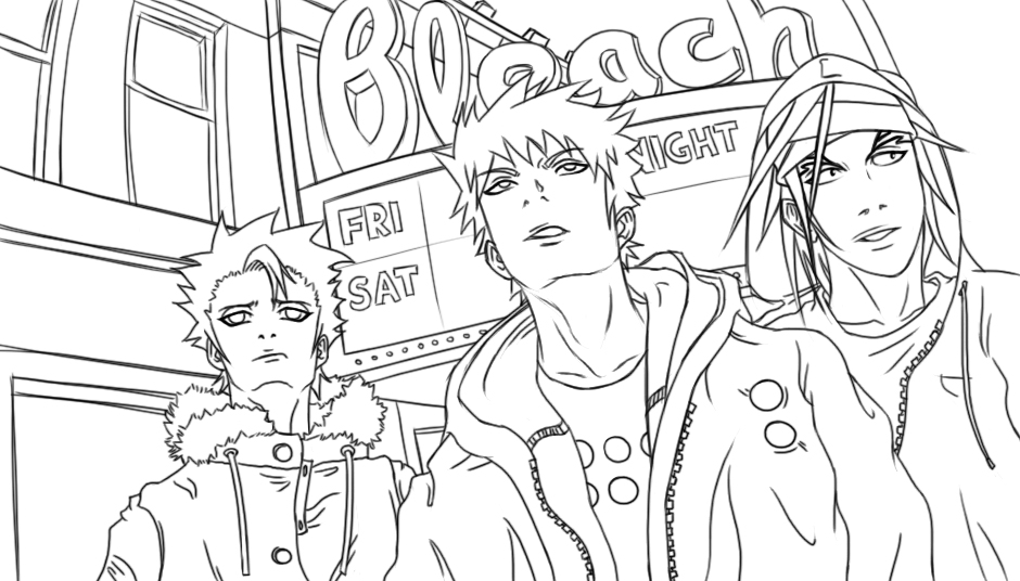 Bleach Kids Coloring Pages 2
