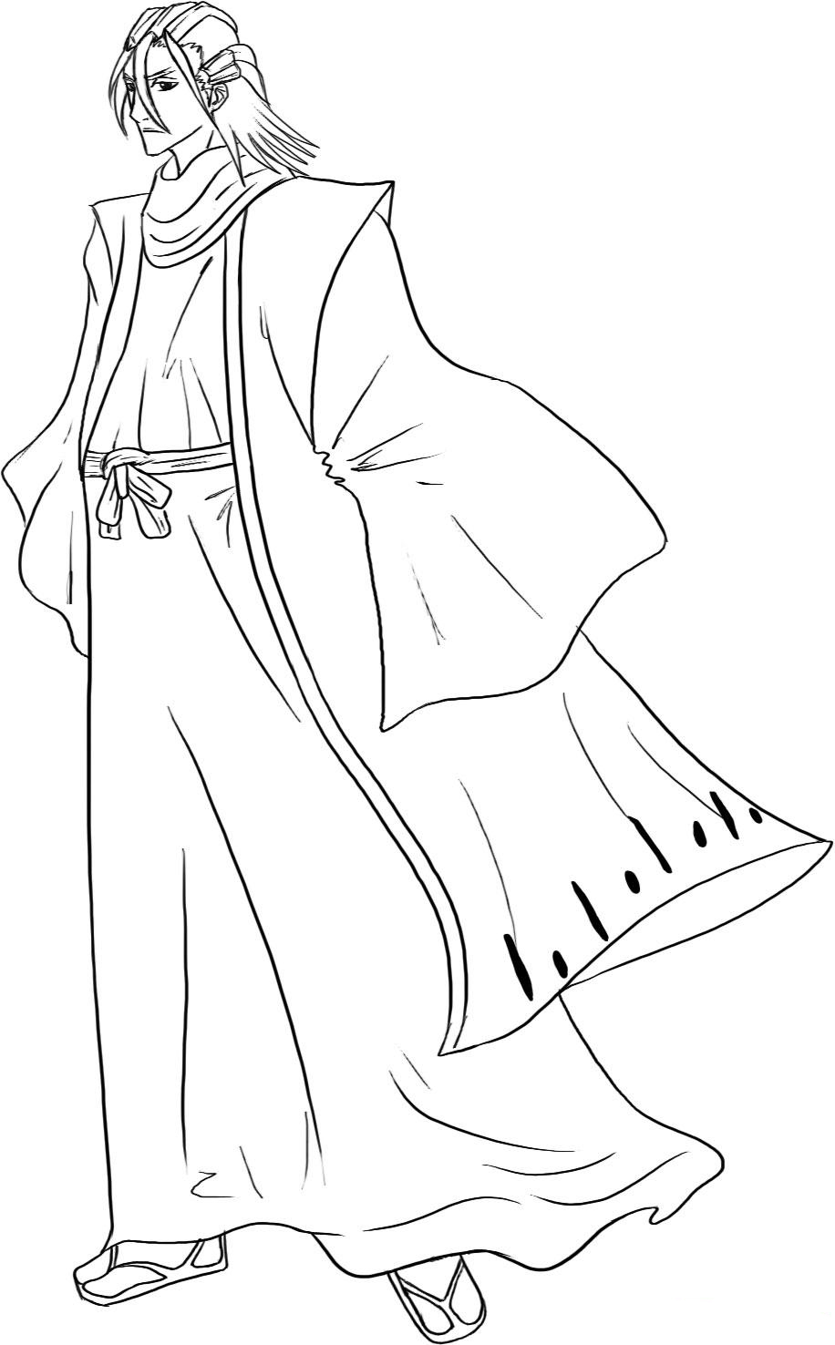 bleach kids coloring pages
