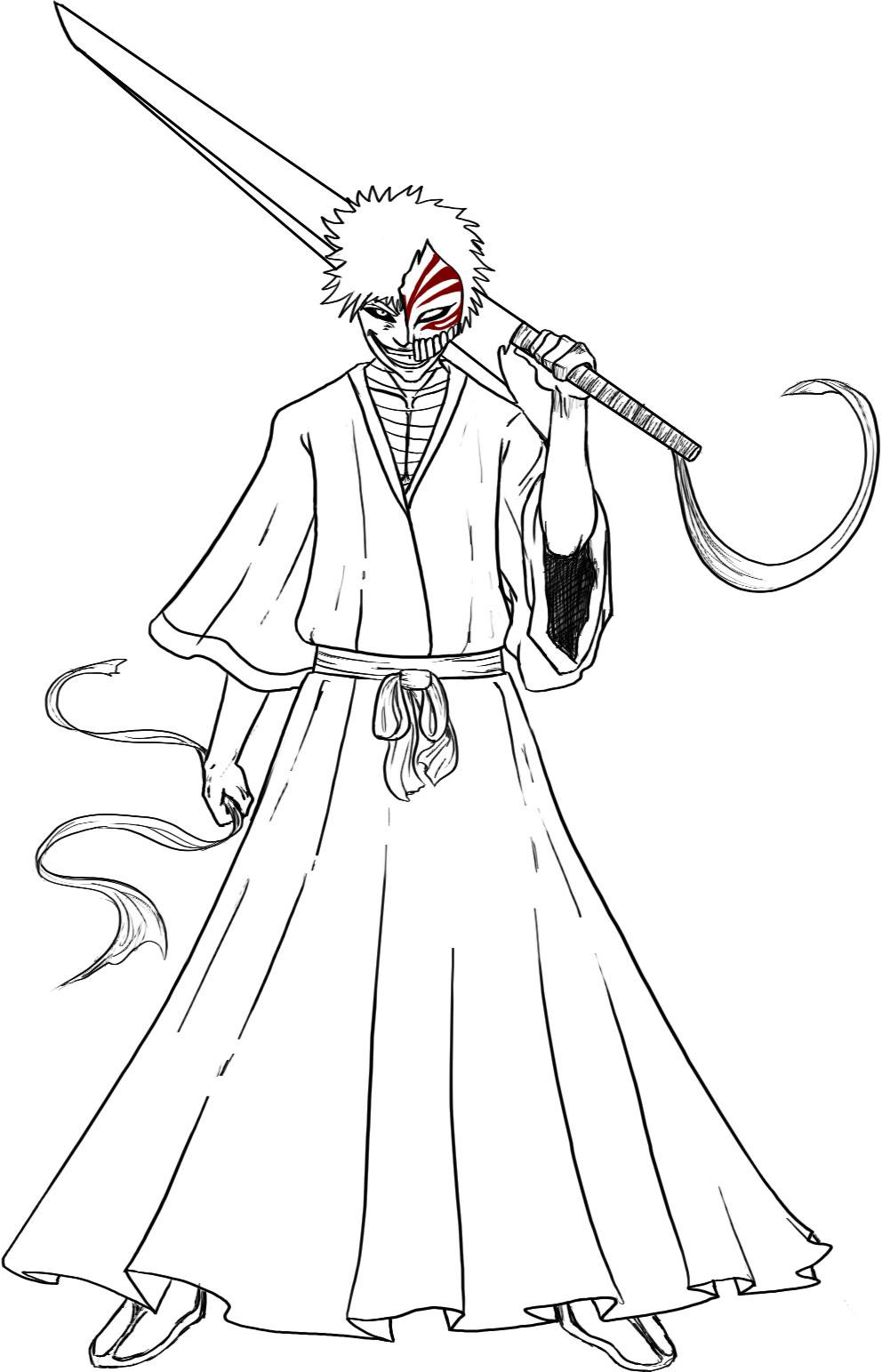 Bleach Kids Coloring Pages 5