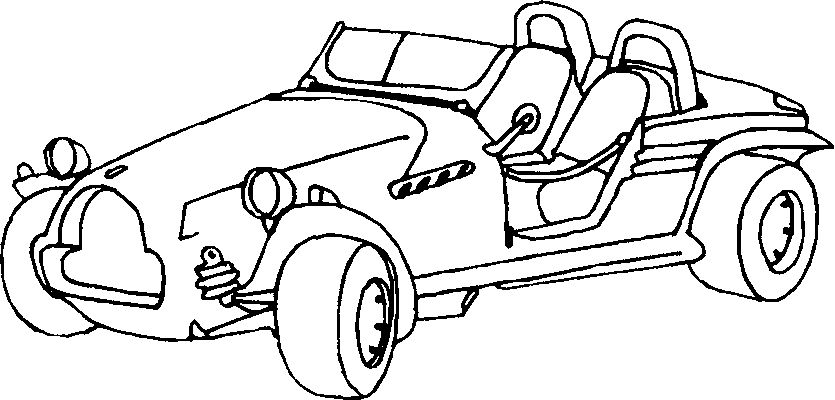 Cars Coloring Pages 7