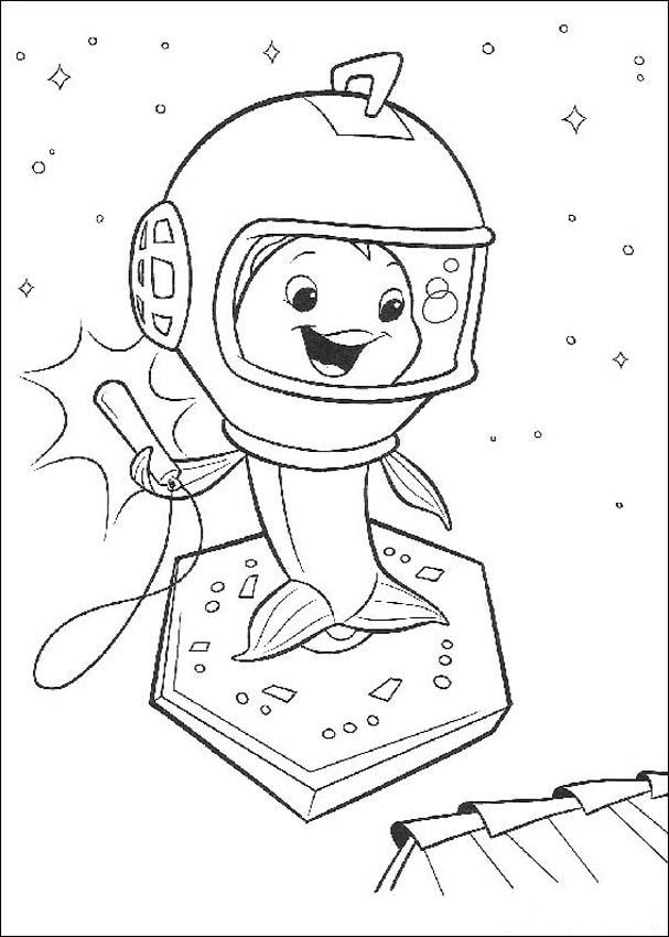Chicken Little Kids Coloring Pages