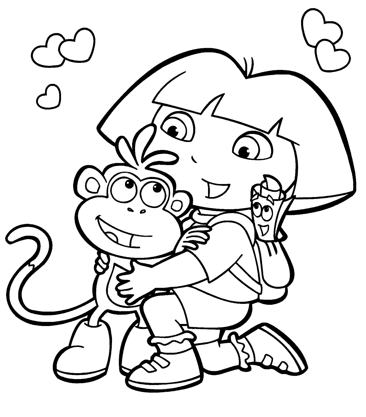 Coloring pages info