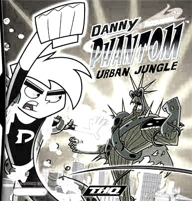 Danny Phantom Urban Jungle Kids Coloring Pages 1