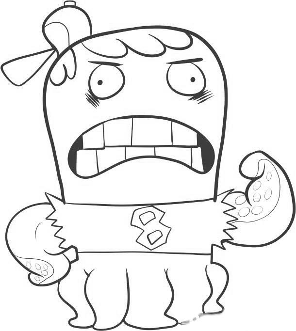 Fish Hooks Kids Coloring Pages 7