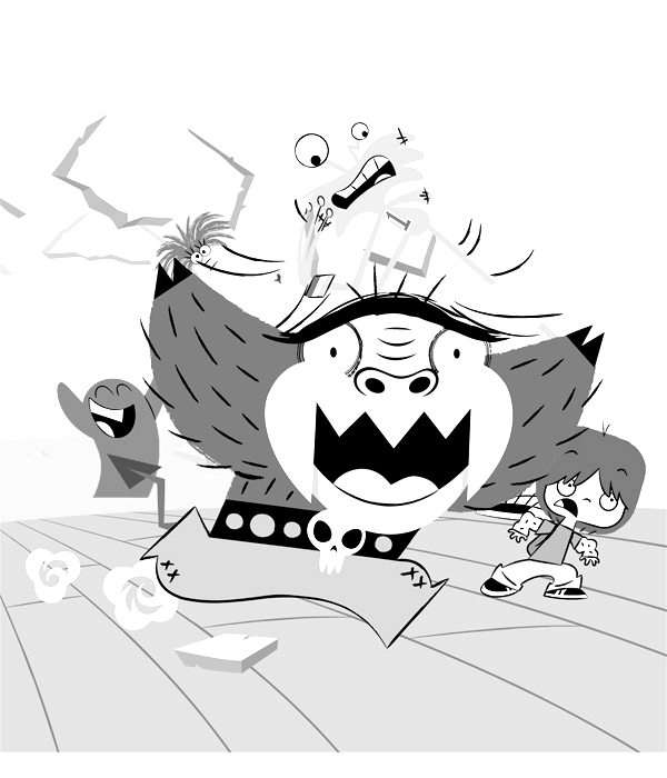 Fosters Home for Imaginary Friends Kids Coloring Pages 9