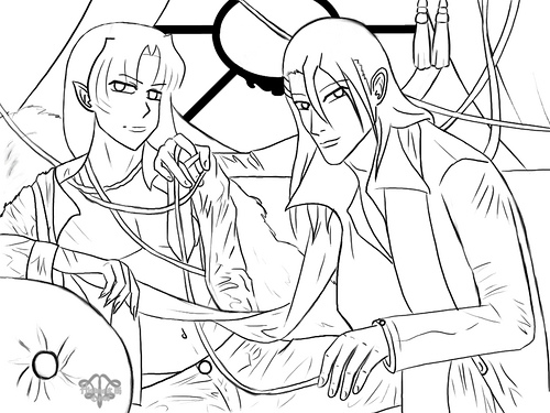 Inuyasha The Final Act Kids Coloring Pages 1