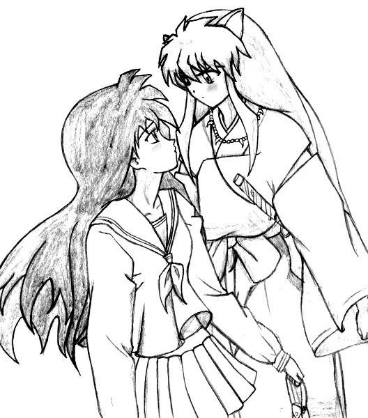 Inuyasha The Final Act Kids Coloring Pages 5