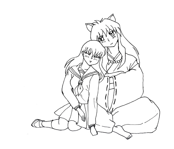 Inuyasha The Final Act Kids Coloring Pages 6