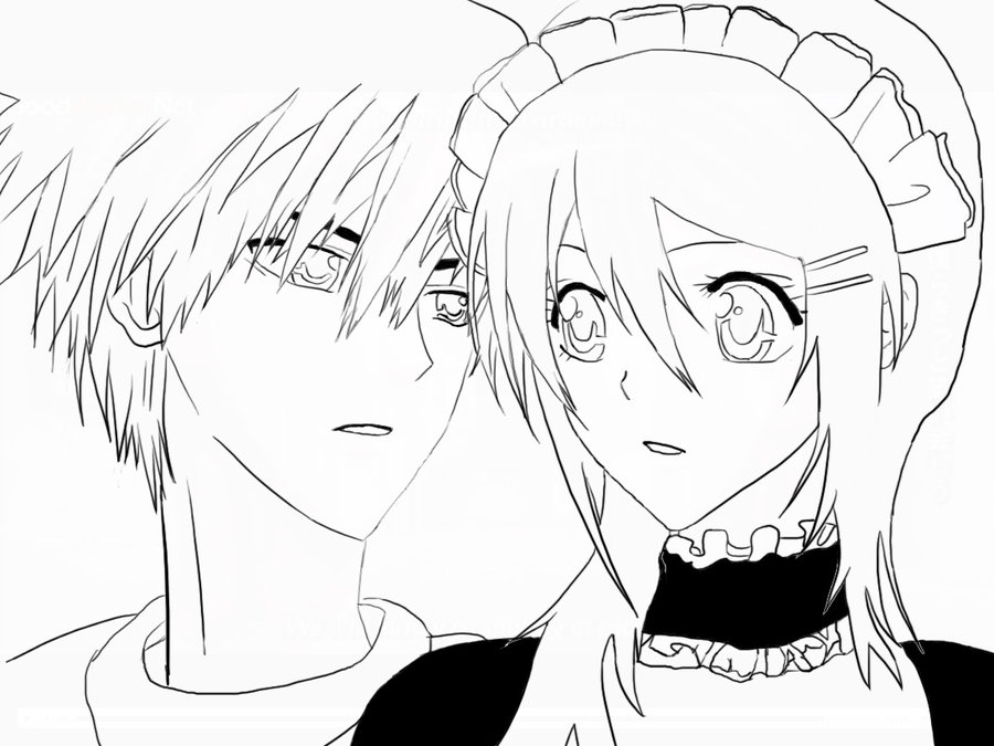 Maid Sama Kids Coloring Pages 6