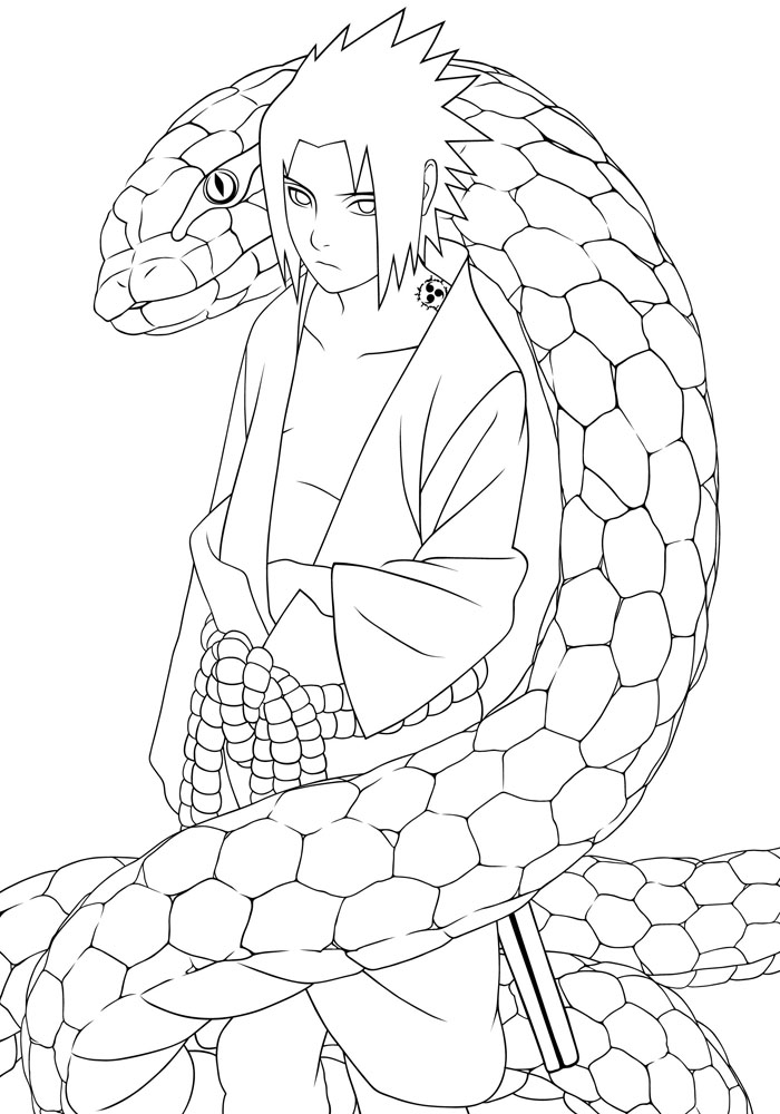 Naruto Coloring Pages 7